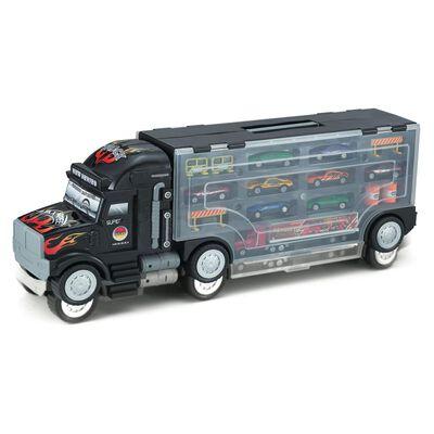 Camión Hitoys Con 8 Autos