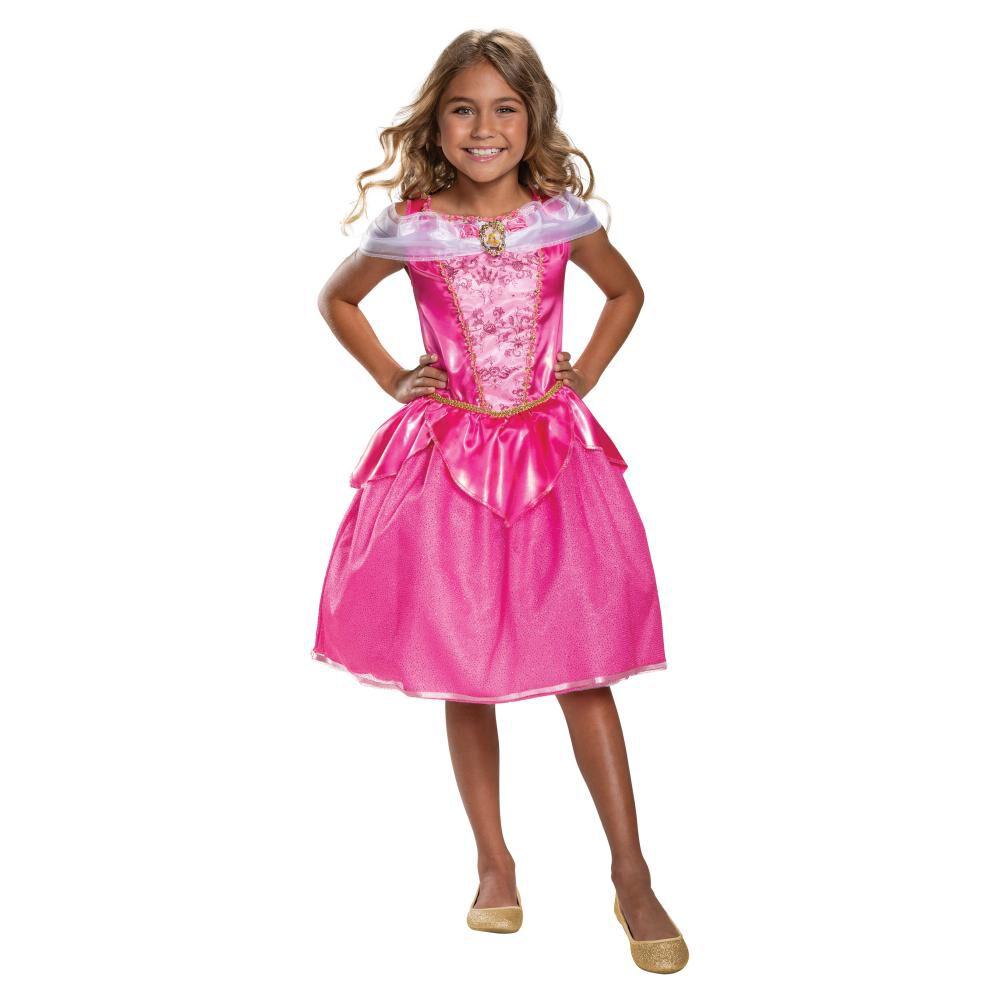 Disfraz Para Niña Princesas Disney Aurora image number 0.0