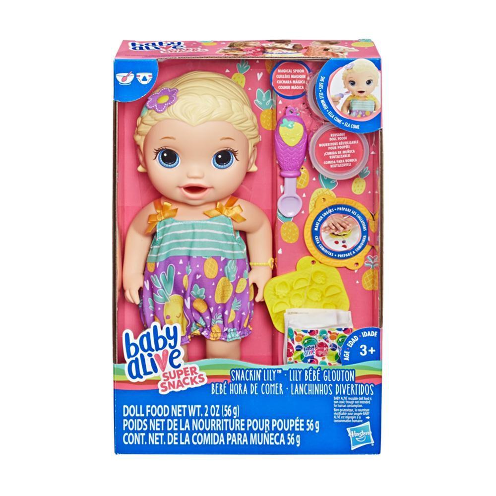 Muñeca Baby Alive Hora De Comer image number 0.0