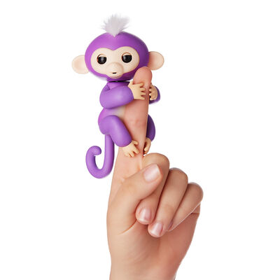 Juguete Fingerlings Purple Mia