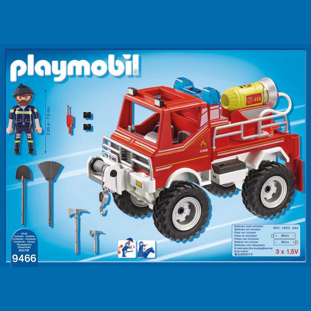 Figura De Acción Playmobil Todoterreno image number 1.0
