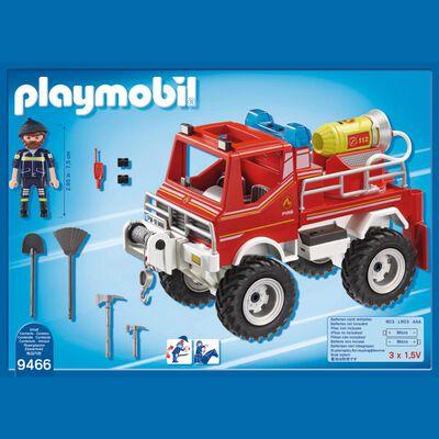 Figura De Acción Playmobil Todoterreno