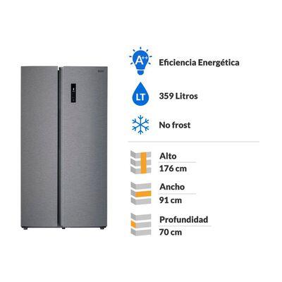 Refrigerador Bgh No Frost, Side By Side BRSS630 / 562 Litros