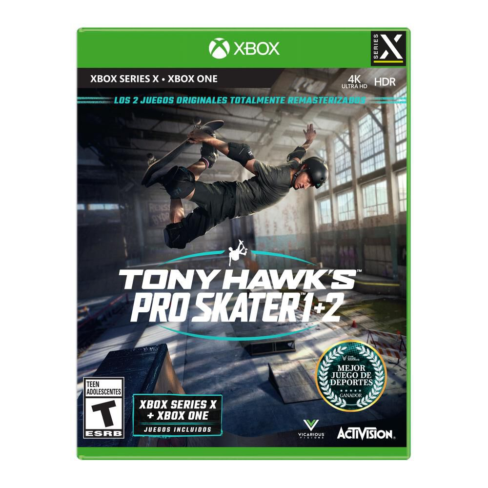 Juego Xbox One X Sony Pro Skater 1+2 Xbsx image number 0.0