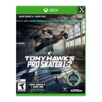 Juego Xbox One X Sony Pro Skater 1+2 Xbsx