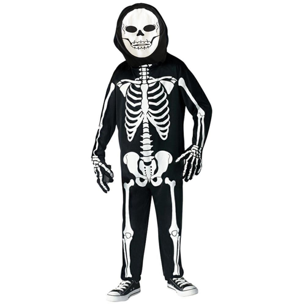 1003603-8 Disfraz Esqueleto Niño T image number 0.0