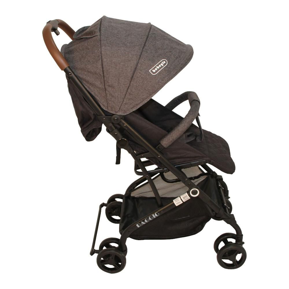 Coche Travel System Compacto Bebeglo RS-13785-3 Gris image number 3.0