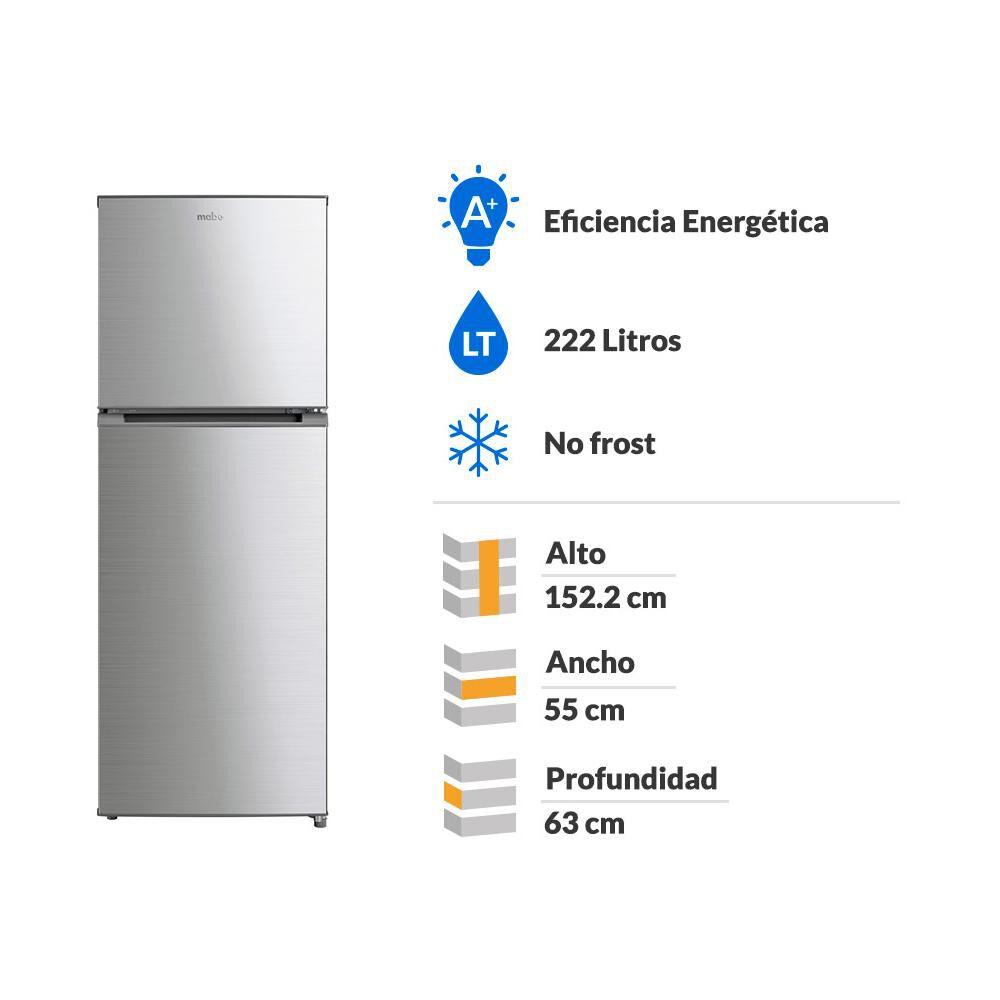 Refrigerador Top Freezer RMN222PXLRS0 / No Frost / 222 Litros image number 1.0