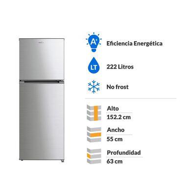 Refrigerador Top Freezer RMN222PXLRS0 / No Frost / 222 Litros
