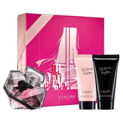 Set de Perfumería Lancome La Nuit Tresor  30Ml / Edt  + Body Lotion 50 Ml + Gel De Ducha 50 Ml