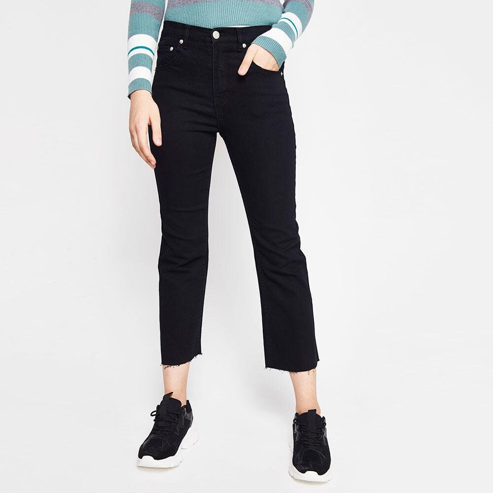 Jeans Mujer Tiro Alto Recto Freedom image number 0.0