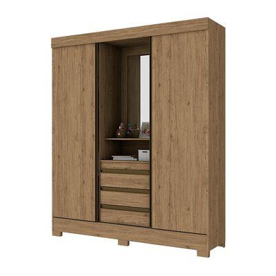 Closet Casaideal B65-110  / 2 Puertas    / 3 Cajones