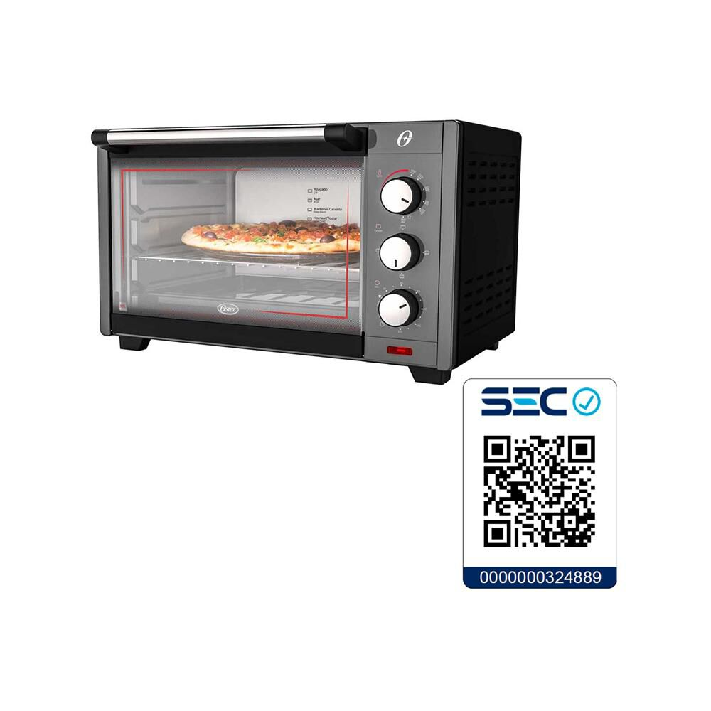 Horno Electrico Oster Tssttv7030-052 30 Litros image number 4.0