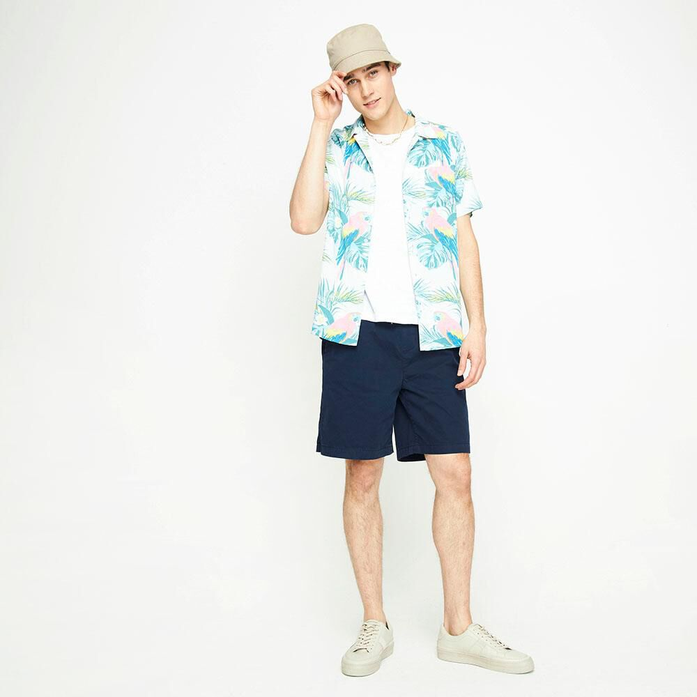 Camisa Manga Corta Hombre Ocean Pacific image number 1.0