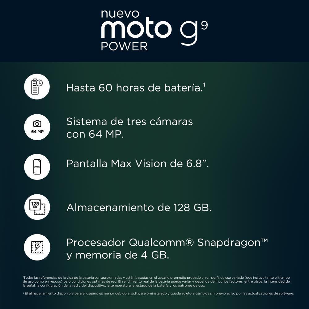 Smartphone Motorola Moto G9 Power 128 Gb/ Liberado image number 8.0