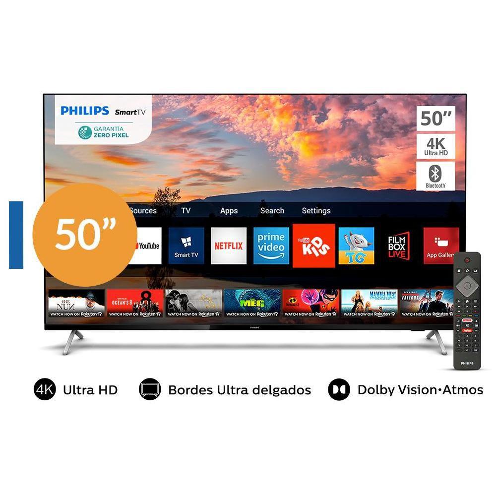 """Led Philips 50PUD7625 / 50"""" / Ultra HD 4k / Smart Tv image number 0.0"""