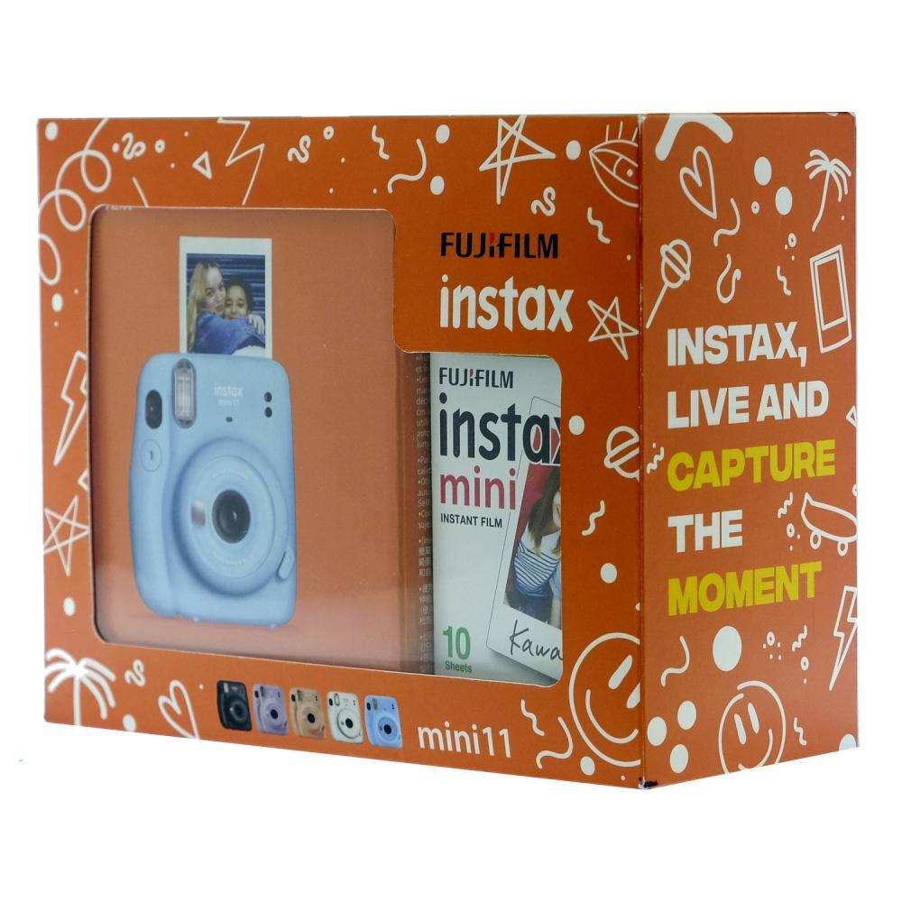 Cámara Instantánea Fujifilm Instax Mini 11 Azul + Película image number 2.0