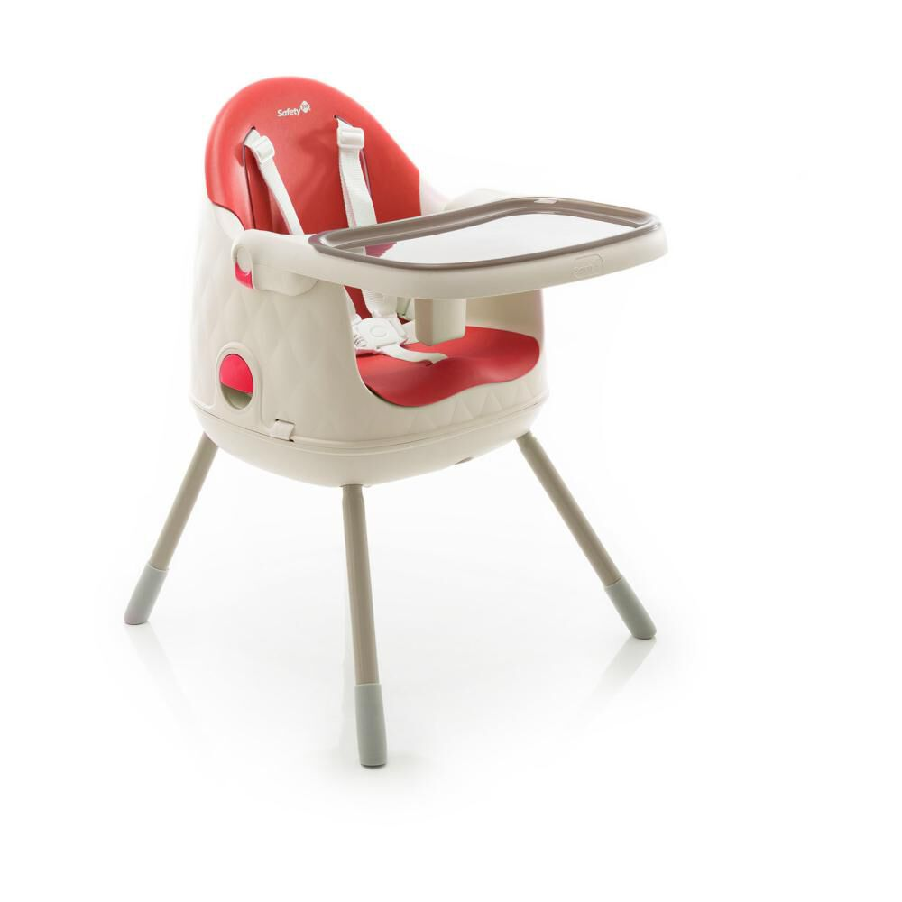 Silla De Comer Safety Jelly Red image number 2.0