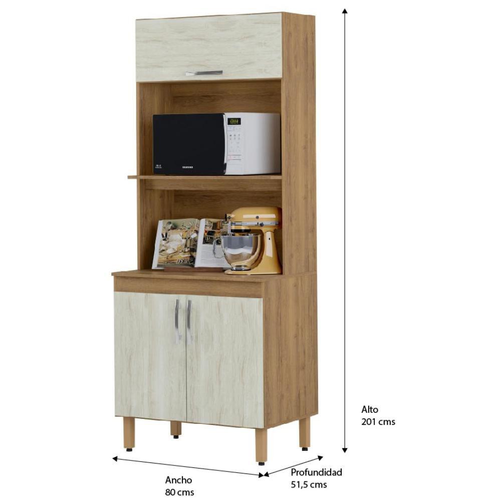 Mueble De Cocina Home Mobili Kalahari/montana / 3 Puertas image number 4.0