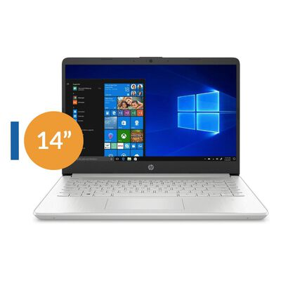 """Notebook Hp 14-dq1043c I3 Reacondicionado / Intel Core I3 / 8 Gb Ram / Intel Uhd Graphics / 256 Gb Ssd / 14 """"/ Teclado en Inglés"""