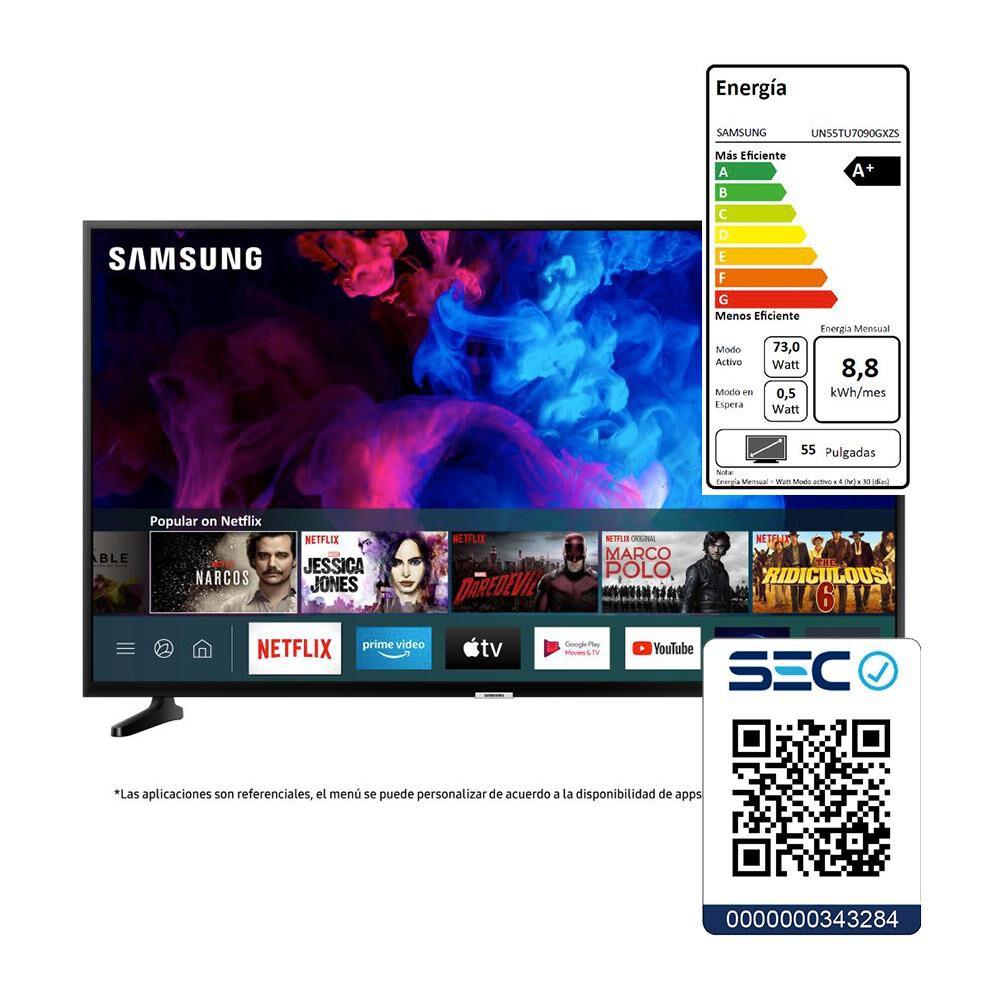 Led Samsung UN55TU7090 / 55'' /  Ultra HD 4K / Smart tv image number 7.0