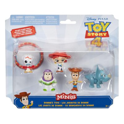Pack 5 Mini Figuras Toy Story