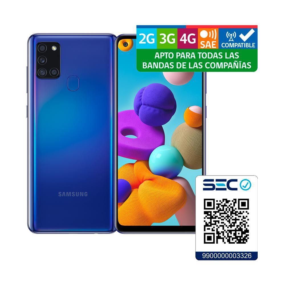 Smartphone Samsung A21s Azul / 128 Gb / Wom image number 7.0
