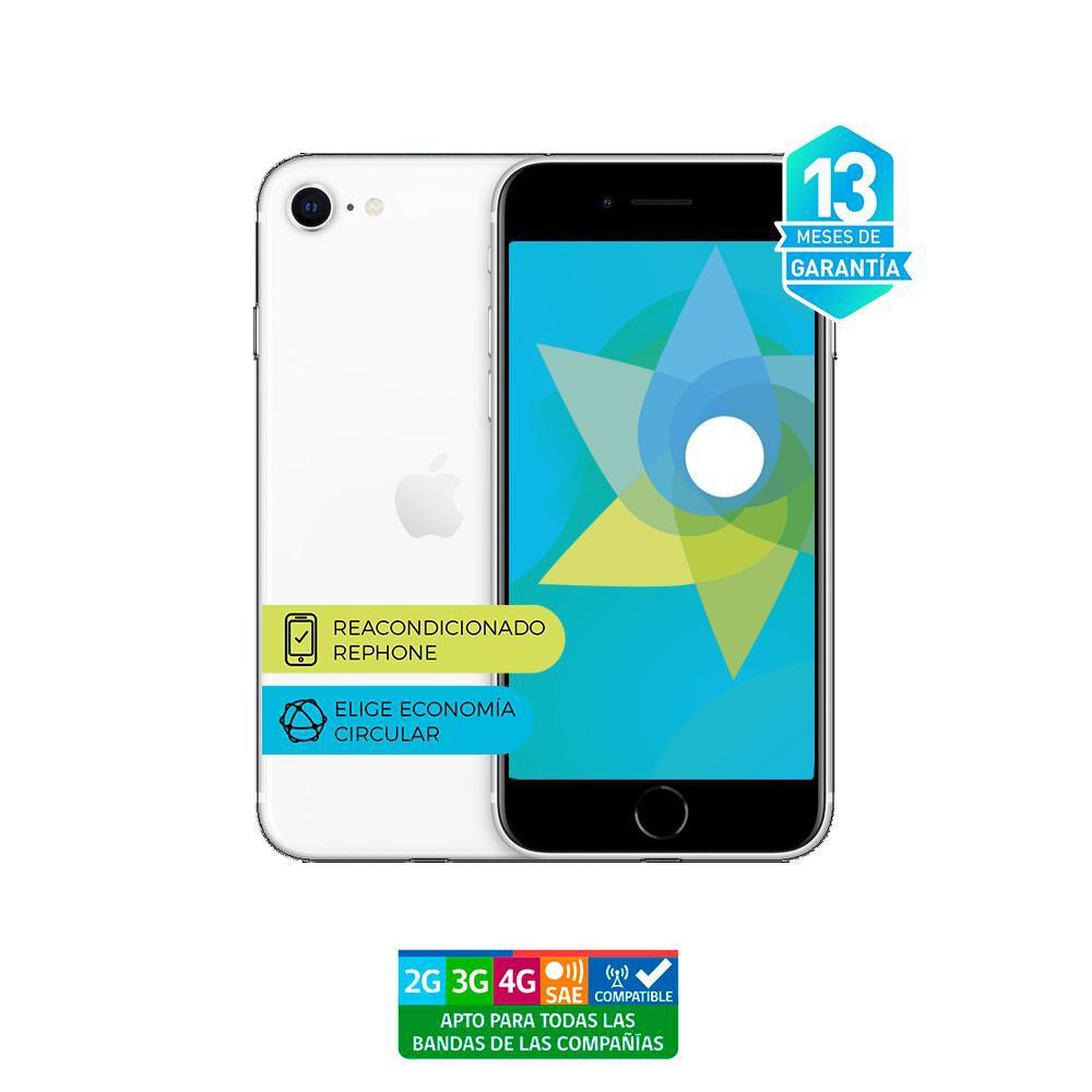 Smartphone Apple Iphone Se 2 Reacondicionado Blanco / 128 Gb / Liberado image number 3.0