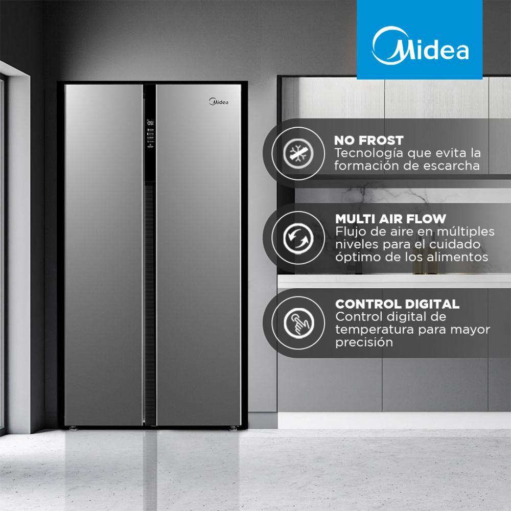 Refrigerador Side By Side Midea MRSBS-5300G689WE / No Frost / 527 Litros image number 2.0