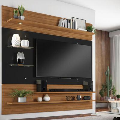 Panel Tv Home Mobili Secilia    / 5 Repisas