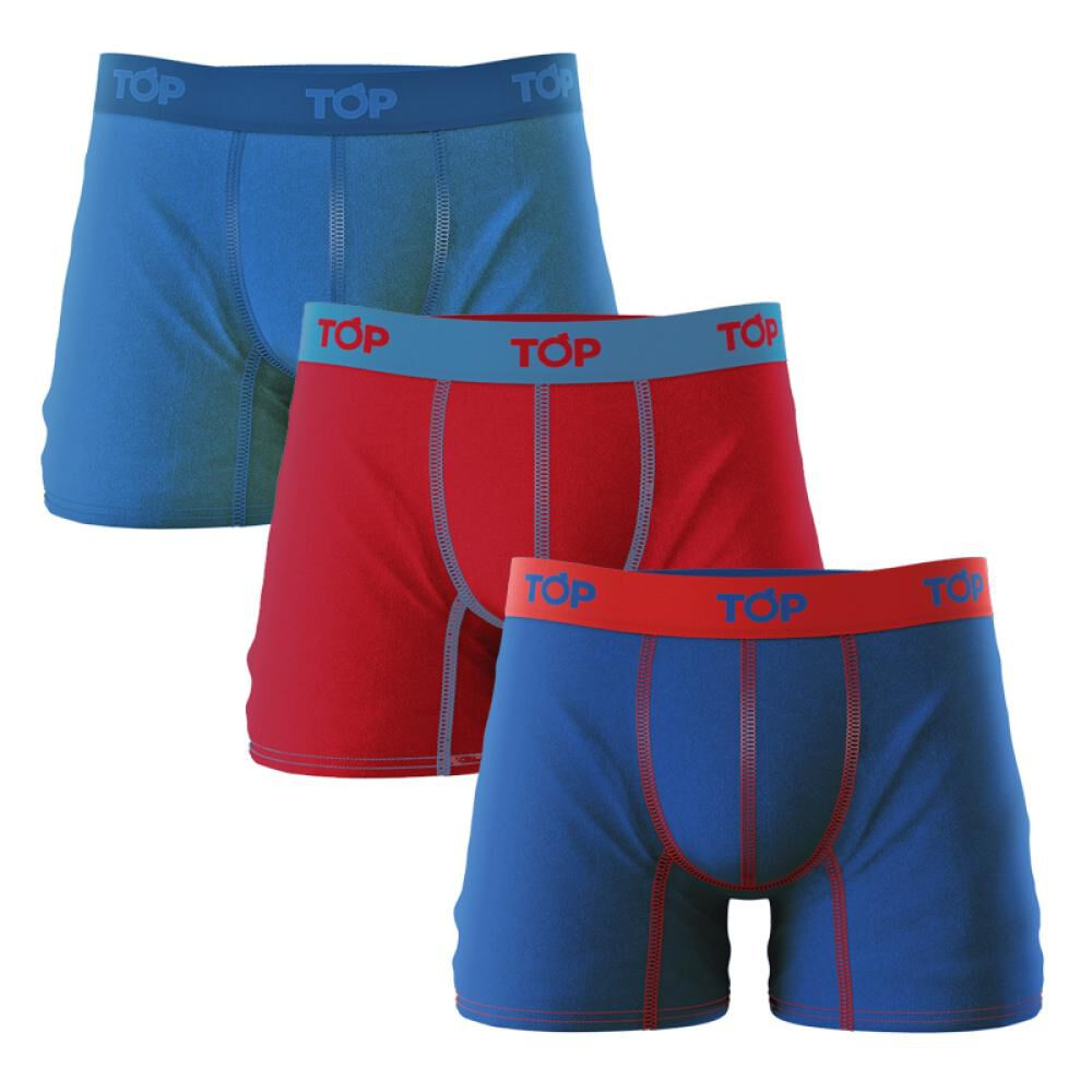 Pack Boxer Hombre Top / 3 Unidades image number 0.0