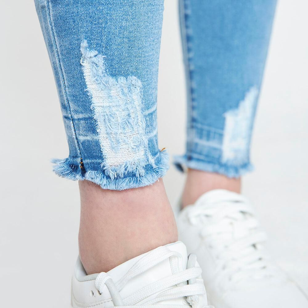 Jeans Mujer Tiro Alto Super Skinny Freedom image number 4.0