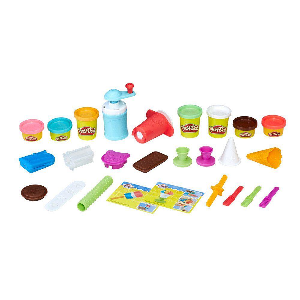 Juego Didáctico Hasbro Play-Doh Frozen Treats image number 1.0