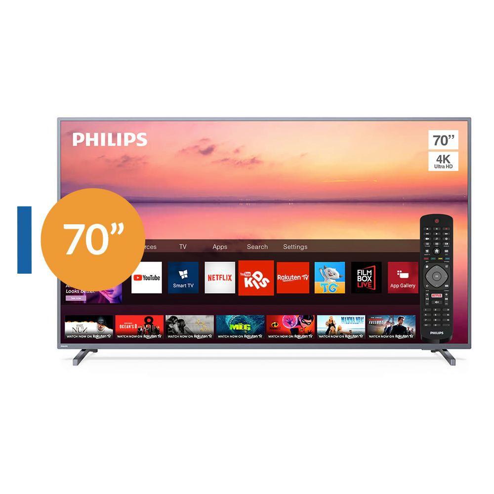 Led Philips Pud6774 / 70'' / Ultra Hd  4k / Smart Tv image number 0.0