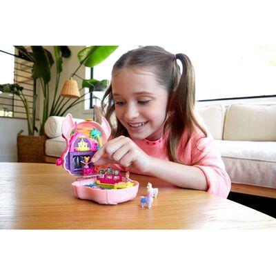 Mini Muñeca Polly Pocket Estuche De Llama