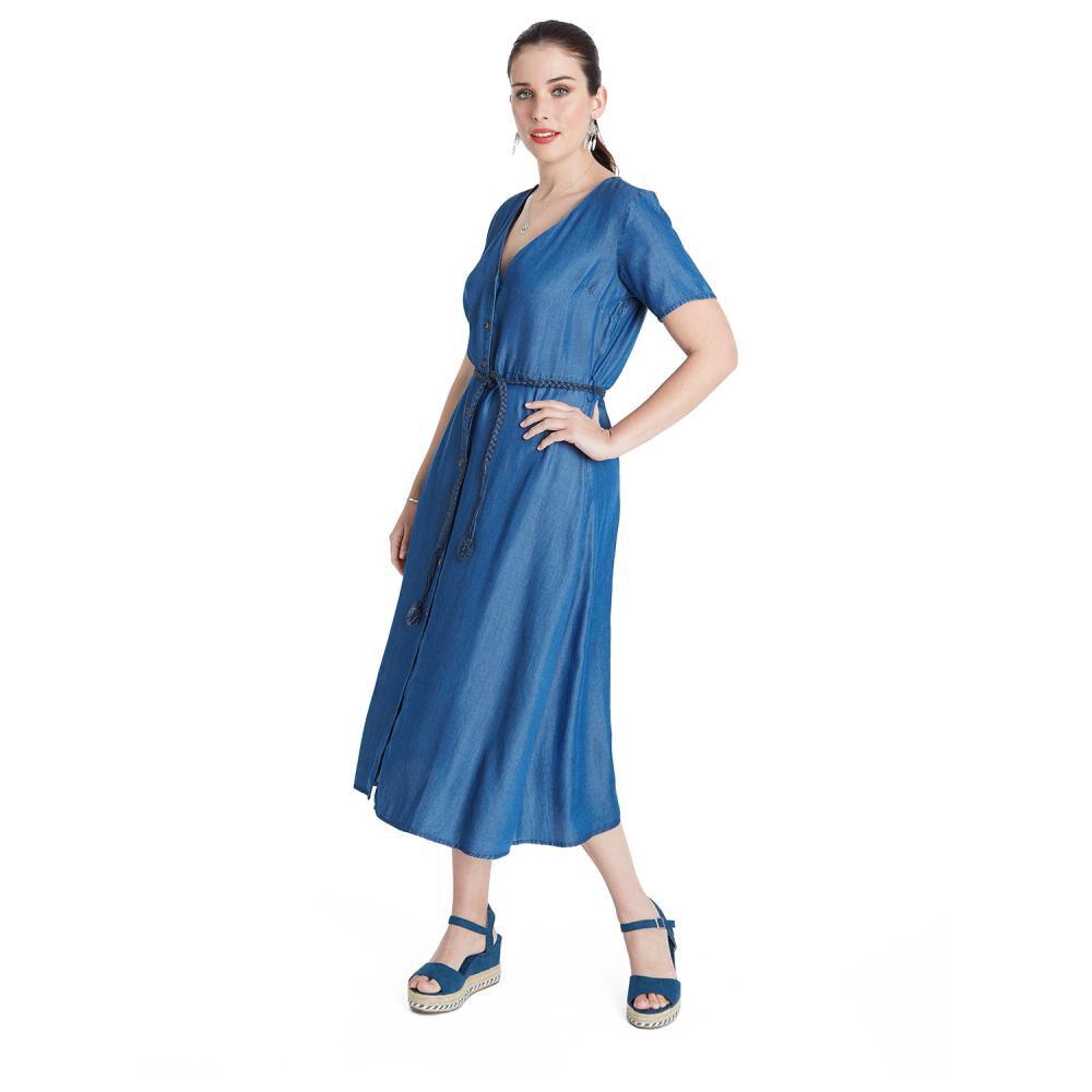 Vestido Mujer Curvi image number 0.0