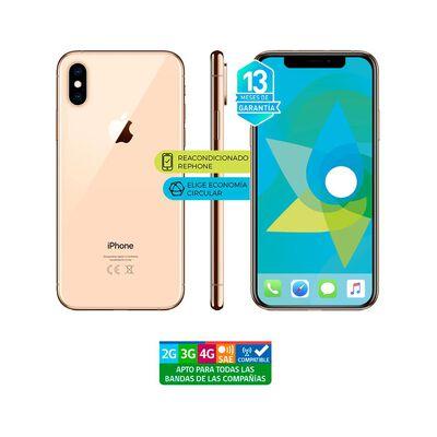Smartphone Apple Iphone Xs Dorado Reacondicionado / 64 Gb / Liberado
