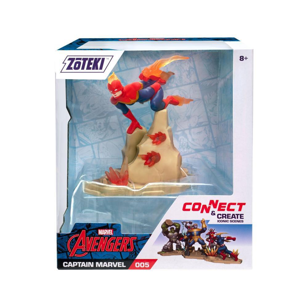 Figura De Acción Zoteki Avengers Capitana Marvel image number 1.0