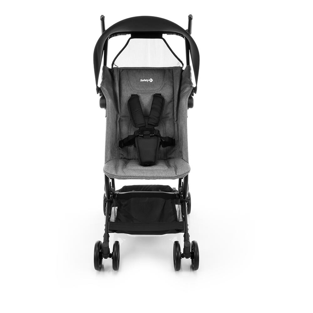 Coche De Paseo Safety Micro Grey Denim image number 0.0