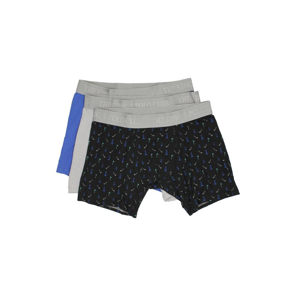 Pack Boxer Hombre The King's Polo Club / 3 Unidades image number 1.0