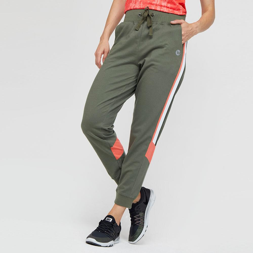 Pantalon De Buzo  Mujer Wetland image number 0.0