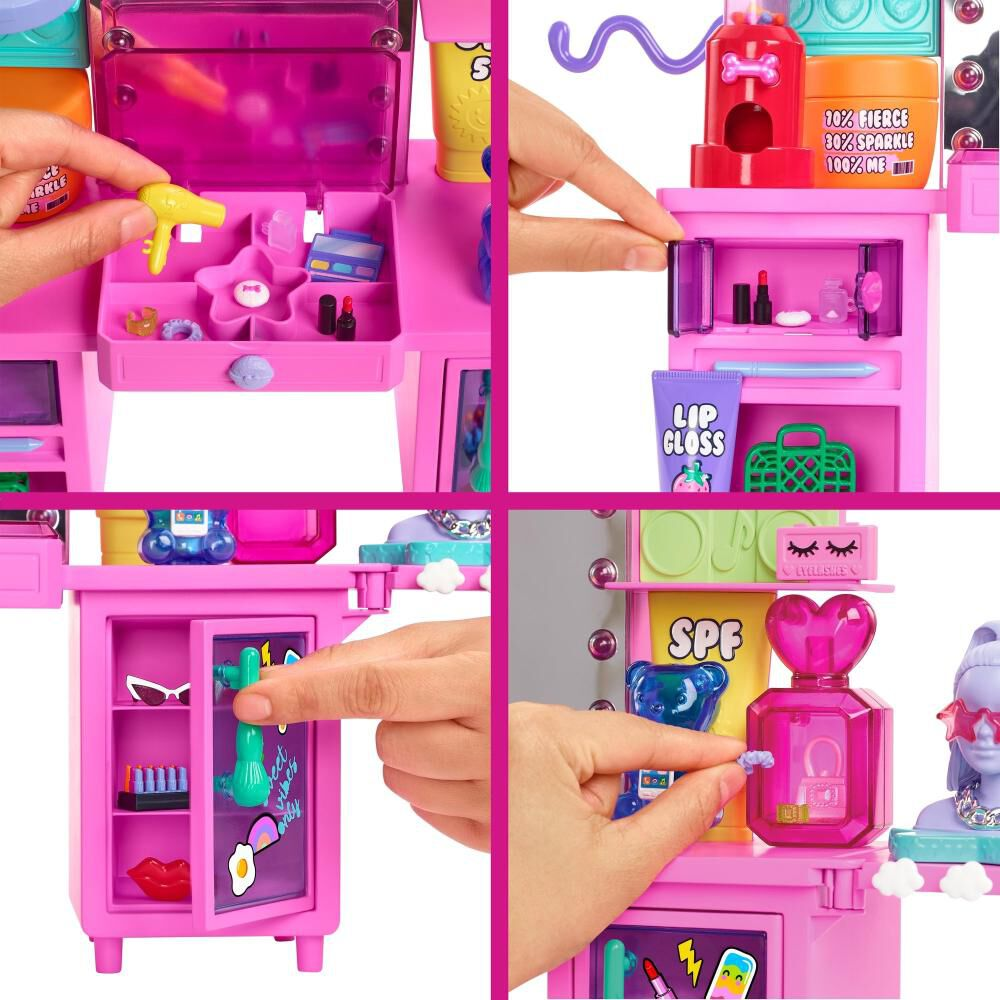 Muñeca Barbie Tocador Fashion image number 4.0
