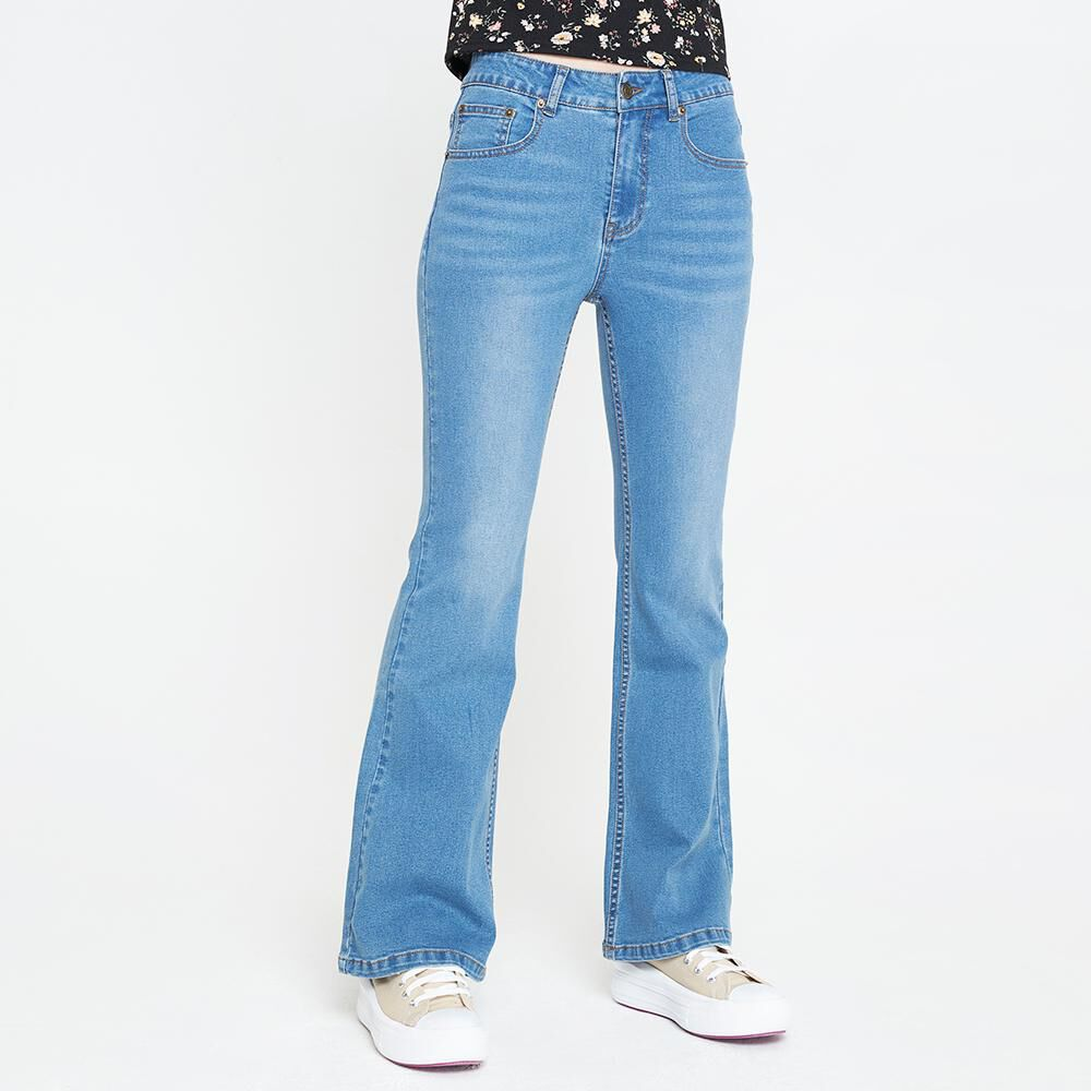 Jeans Mujer Tiro Alto Flare Freedom image number 0.0