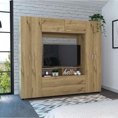 Closet Tuhome Z-200/ 6 Puertas/ 2 Cajones