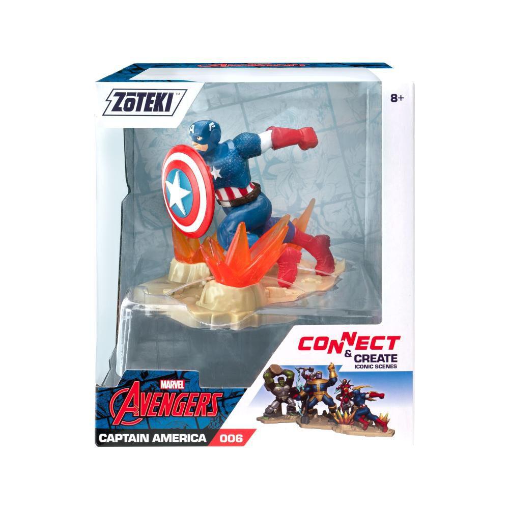 Figura De Acción Zoteki Avengers Capitán America image number 0.0