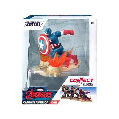 Figura De Acción Zoteki Avengers Capitán America
