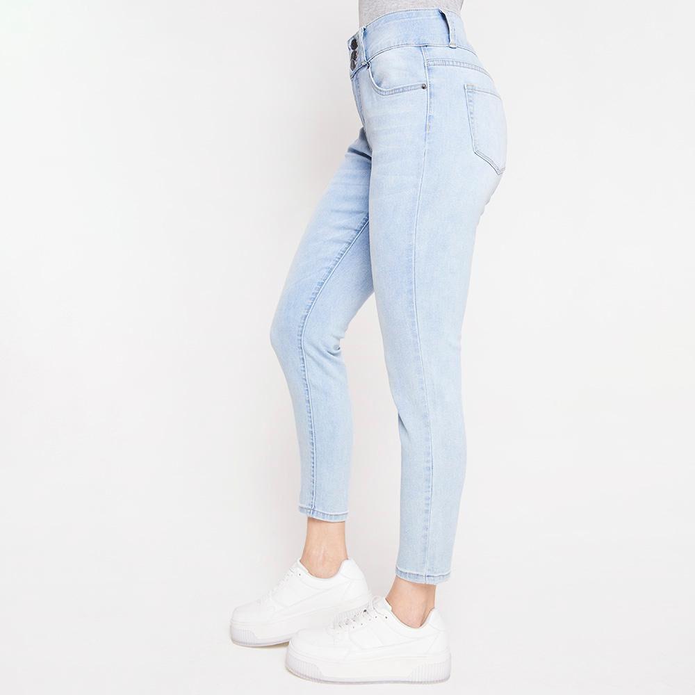 Jeans Mujer Tiro Alto Skinny Kimera image number 5.0