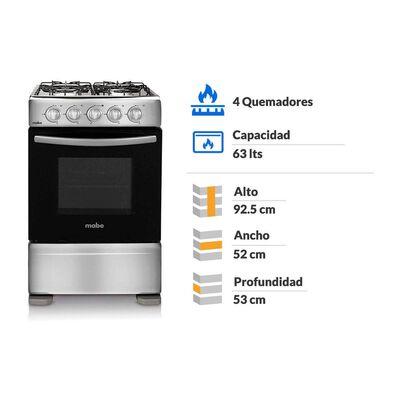 Cocina Mabe CMC20AXX-0 / 4 Quemadores