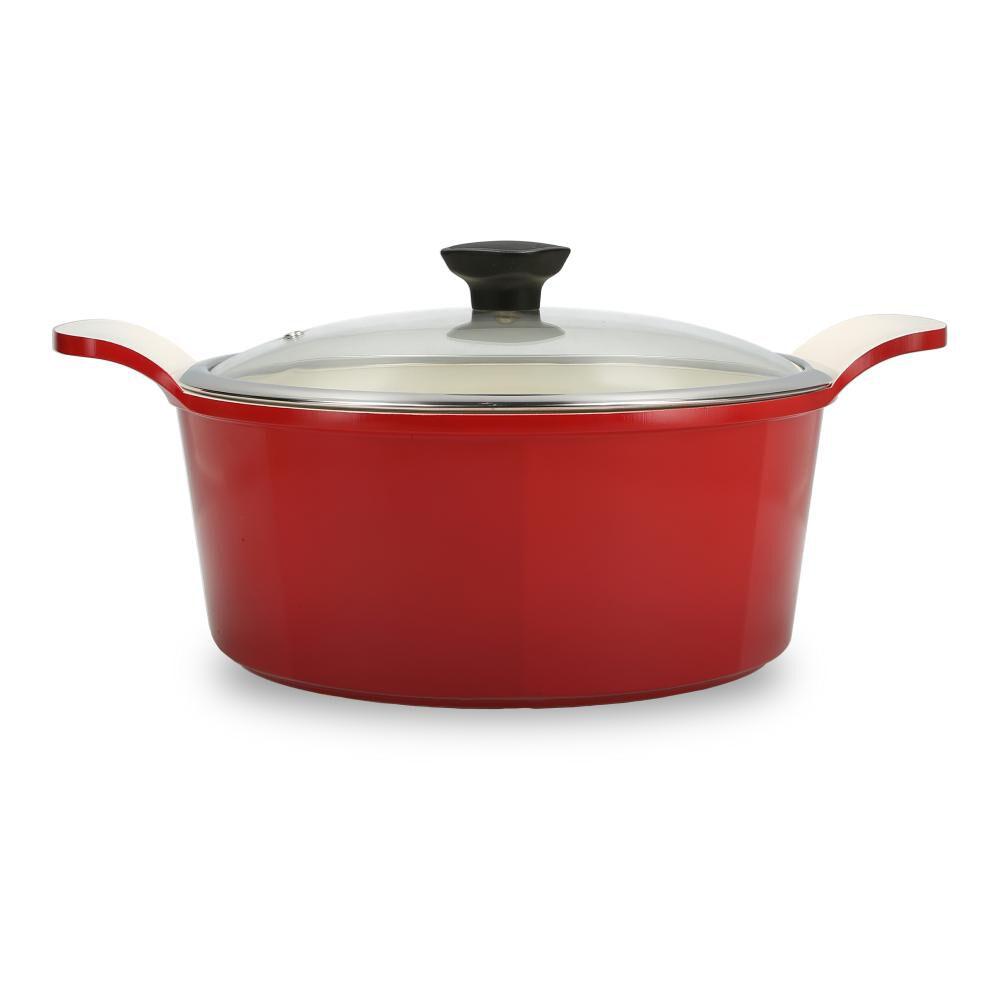Bateria De Cocina Kitchenware Simply Red / 8 Piezas image number 4.0