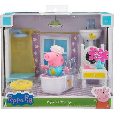 Muñeca Peppa Pig Habitaciones De La Casa - Pequeño Spa